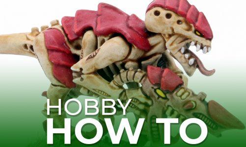 Hobby How To: Paint Hive Fleet Kraken Tyranids