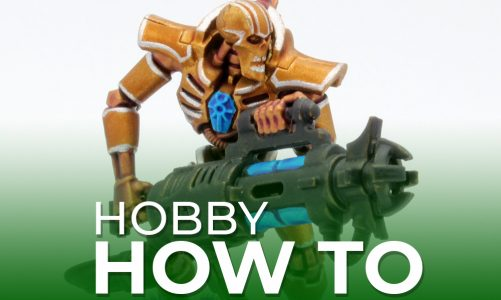Hobby How To: Paint Suk'et Dynasty Necrons