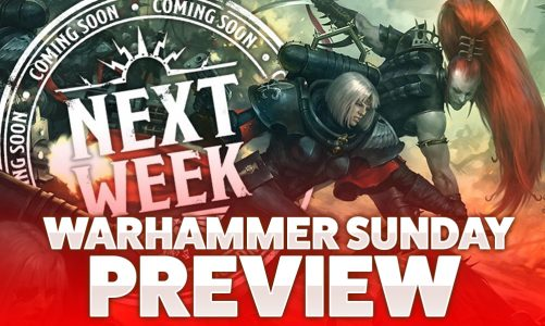 Warhammer Sunday Preview
