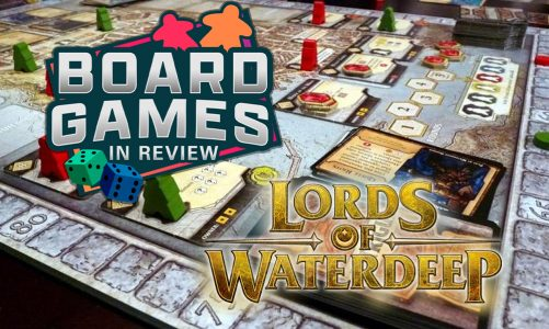 Board Game review – Lords of Waterdeep