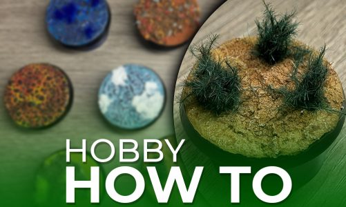 Hobby How To – Bases Part 2!