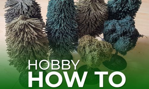 Hobby How To – Trees and Hedges