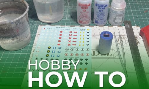 Hobby How To – Transfers made easy