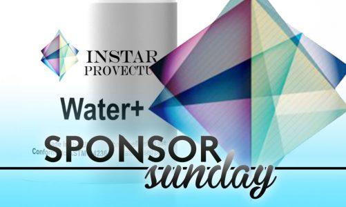 Sponsor Sunday – Water+